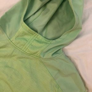 North Face Fleece-Lined Hooded Pullover, Size M